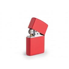 ZIPPO 233, metalni upaljač u poklon kutiji, crveni