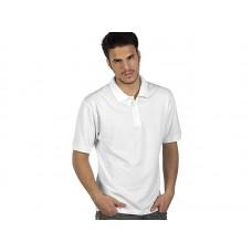 AZZURRO II, polo pamučna majica, bijele boje